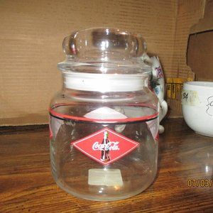 COCA-COLA ANCHOR HOCKING CANISTER